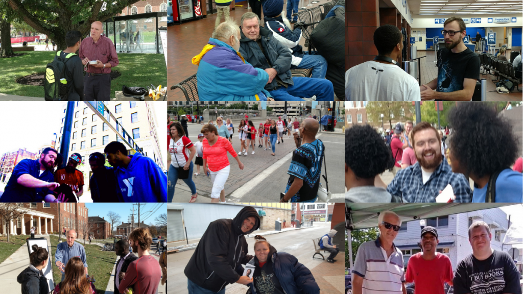 Evangelize Cincinnati Outreach Photos
